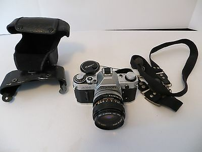Canon AE-1 35mm Camera with 50mm, Carry case