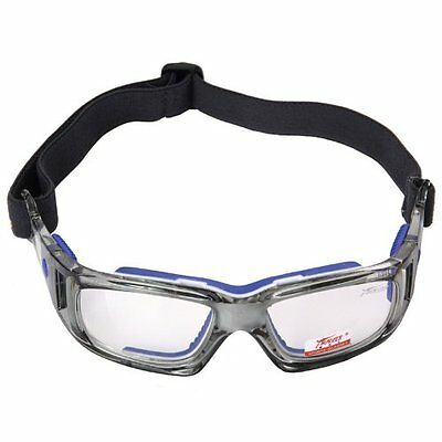 Panlees Goggles Sports Safety Glasses Adjustable Elastic Wrap Eyewear For Soccer