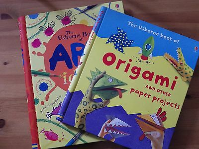 The Usborne Book of Origami and other Paper Projects & of Art Ideas (Home Ed)