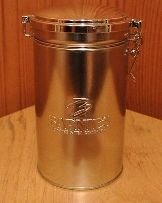 Barnie's Coffee Tea Collector Tin Canister