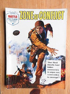 Battle Picture Library #114 - Zone of Conflict  VG+  Fleetway