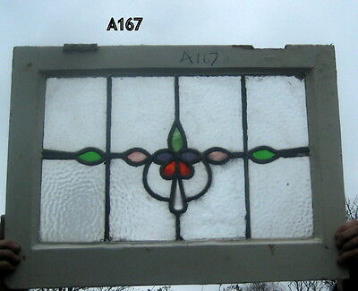 A167    Stained Glass  window . Ca 1930s