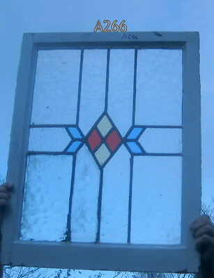 A266   Stained Glass window . Ca 1930