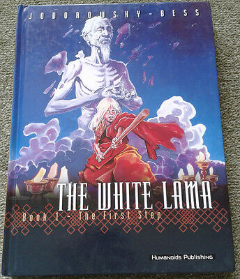 White Lama Book 1 The First Step Humanoids Jodorowsky Hardback