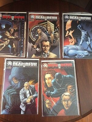 MIKE S MILLER'S DEAL WITH THE DEVIL 1-5 1, 2, 3, 4, 5 FULL SET boarded/sleeve