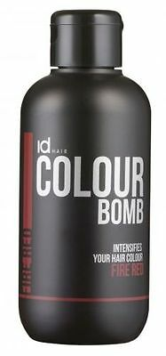 idHAIR Colour Bomb fire red, 250ml