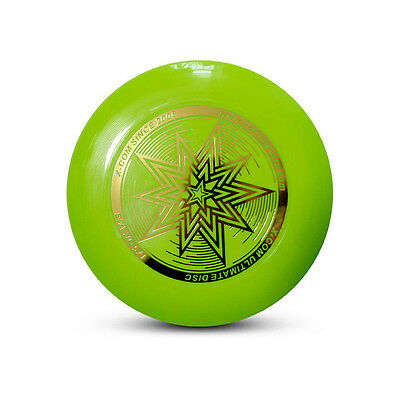 Green Professional Ultra-Stars Ultimate FRISBEE 175g Championship Flying Disk