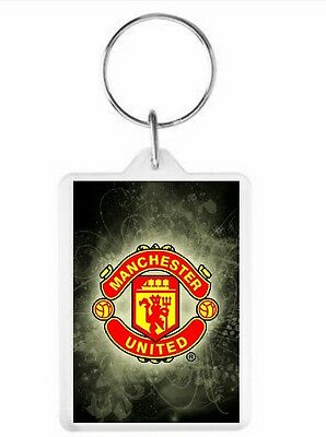 Manchester United Key Ring 50mm x 35mm. Donation made to Charity.