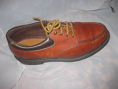 "Sharp!! "" Red Wing Shoes""  Men Brown Leather  Oxford Sz 11M"