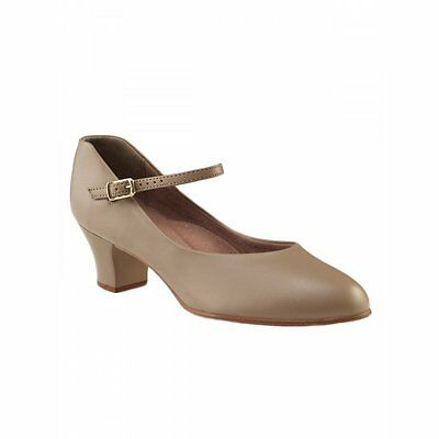 "New Capezio 550X AND 550 TAN Character Shoe 1 1/2 "" heel Child & Young Adult"