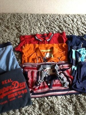 boys bundle of clothes age 11-13 years