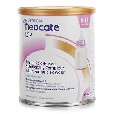 Neocate Lcp 400Gr Tin , 07/2017 Expiry Date
