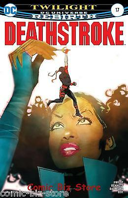 Deathstroke #17 (2017) 1St Printing Dc Universe Rebirth Bagged & Boarded