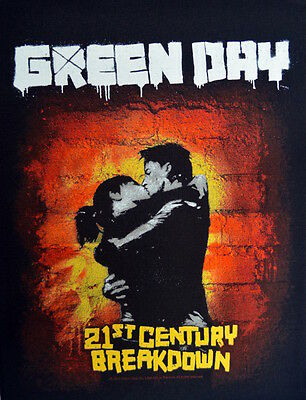 Green Day 21st century breakdown Back Patch XLG free worldwide shipping