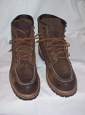 FRYE, Men's Dakota mid lace, Leather Casual Boots. size 10.