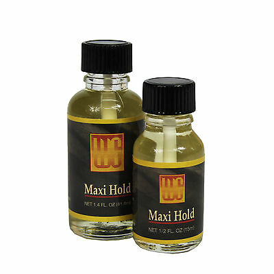 Maxi HOLD HAIR BONDING GLUE FOR WIGS-TOUPEES -LACE WIG -WEAVE - WEFT 0.5FL.OZ!!