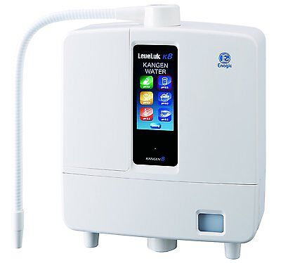 Brand New Enagic Kangen Leveluk K8 Water Ioniser with five years warranty