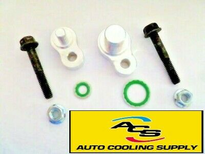 Rear A/C Block Off Kit For 2012-2016 Chrysler Town & Country And Dodge Caravan