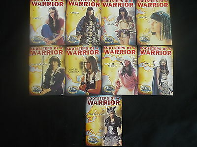 2002 Xena  Footsteps Of A Warrior Complete 9 Card Chase Se (C1)