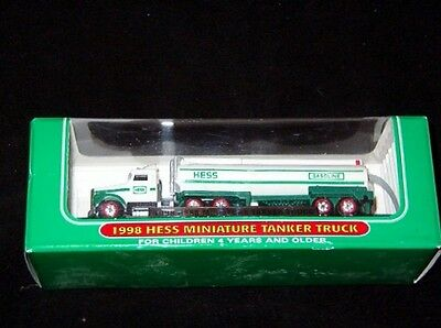 1998 Mini Hess Tanker Truck -New In The Box
