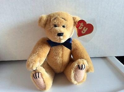 Ty Attic Treasure REGGIE the Bear-Mint with 1st Gen Non Mint Hang Tag