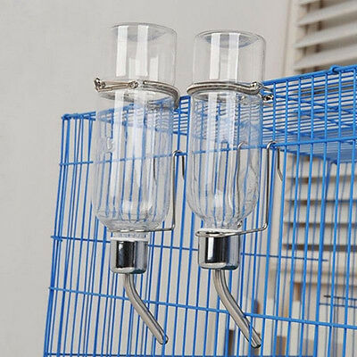 Little Pet Rat Water Drinking Bottle Hamster Rabbit Dispenser Cylindrical Feeder