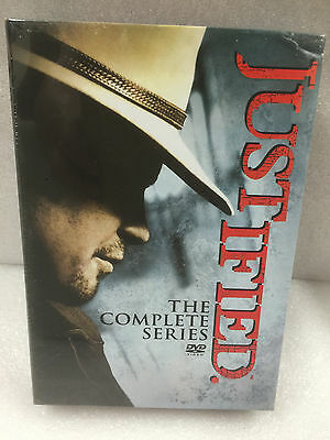 Justified Complete Series Box Set Season One-Six 1-6 1 2 3 4 5 6 (DVD, 2015) NEW