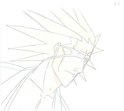 Anime Genga not Cel Production Art Bleach #459