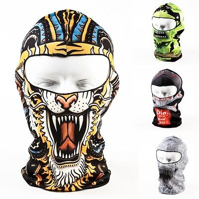Motorcycle Balaclava Neck Winter Ski Bike Cycling Full Face Mask Cap Hats Cover