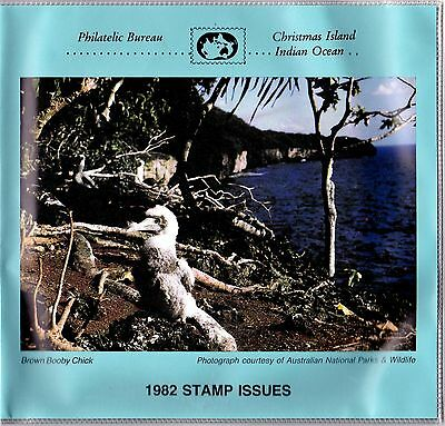 Christmas Island 1982 Issues - Birds & Christmas Presentation Pack