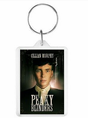 Peaky Blinders Cillian Murphy Key Ring 50 x 35mm. Donation made to Charity.