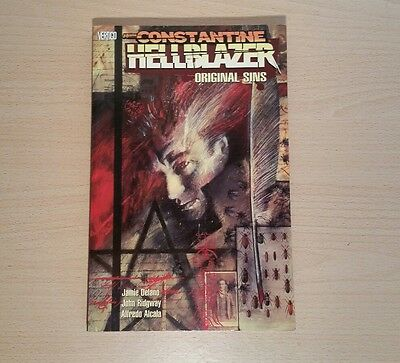 Constantine Hellblazer Volume 1 Orignal Sins Vertigo Comics Graphic Novel TPB