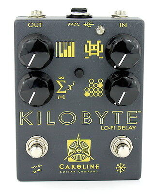 Caroline Guitar Company Kilobyte V2 Delay - Authorized Dealer! Brand New!