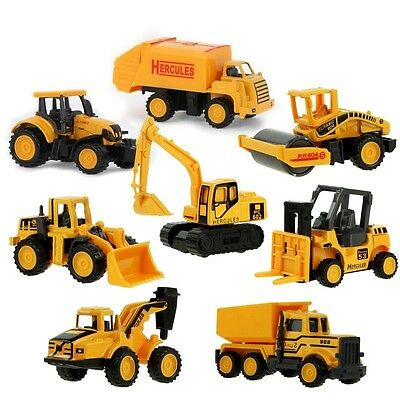 Kids Truck Mini Car Model Toys Truck Excavator Educational Toys Truck Model Gift