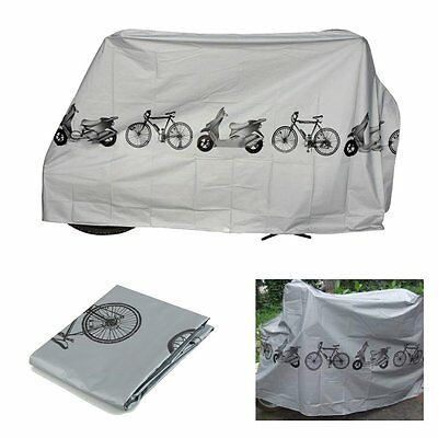 Waterproof Rain Garage Dust Cover Outdoor Protector For Bike Bicycle Cycling DK