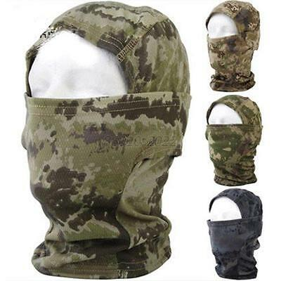 AU Multicam Camo Cycling Motorcycle Outdoor Balaclava Tactical Full Face Masks
