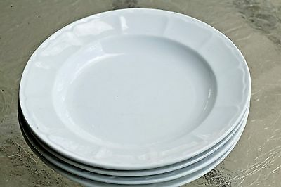 "Set Of 4 T & R Boote English Ironstone 9"" Octagon Shape Dinner Plates 1851"