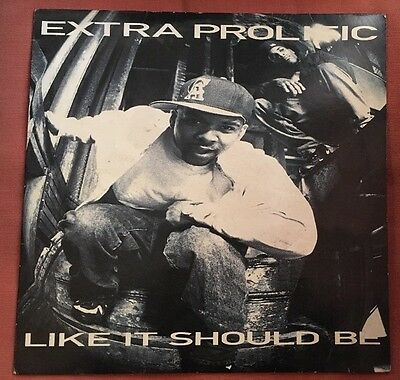 Extra Prolific Like It's Should Be LP ORG UK Release