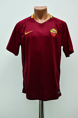 *mint* As Roma Italy 2015/2016 Home Football Shirt Jersey Maglia Nike
