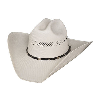 Bullhide Justin Moore Limited Edition 50X Straw Hat