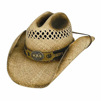 Bullhide Shut Up And Ride Straw Hat