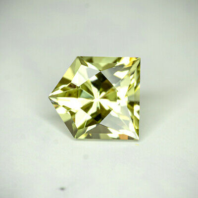 APATITE-MEXICO 2.76Ct FLAWLESS-NATURAL LIVELY YELLOW GREEN COLOR-FOR TOP JEWELRY