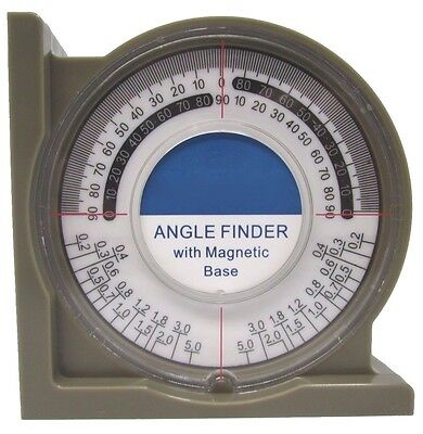 Angle Finder with Magnetic Base Measure / Level Gauge Workshop Garage Tool LV042