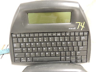 Alphasmart Neo 2 Portable Word Processor,  Uses 3 Aa Batteries!