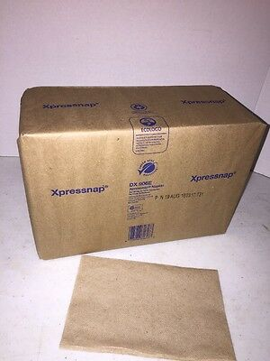 1 Package of 500 Napkins- Tork DX906, fits a Tork Universal  Xpressnap Dispenser