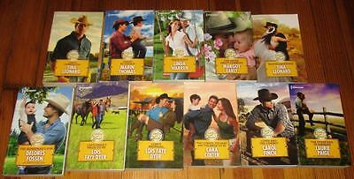 Lot of 11 COWBOY AT HEART Romance Books (Harlequin)