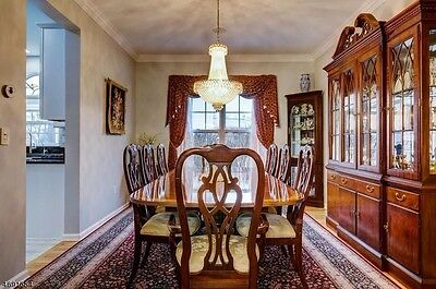 Ethan Allen Mahogany Chippendale Dining room set