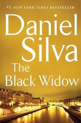 THE BLACK WIDOW by Daniel Silva (2016, Hardcover) 1st Edition