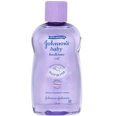 Johnson's Baby Bedtime Oil 125ml - NEW