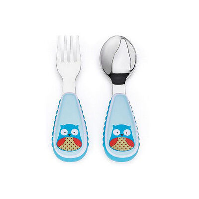 Skip Hop Utensil Set - Owl - NEW